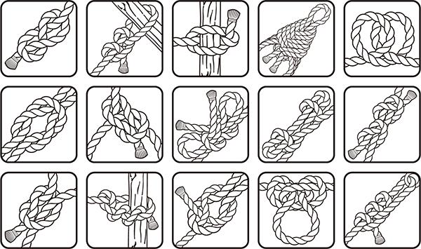 『ロープワーク』